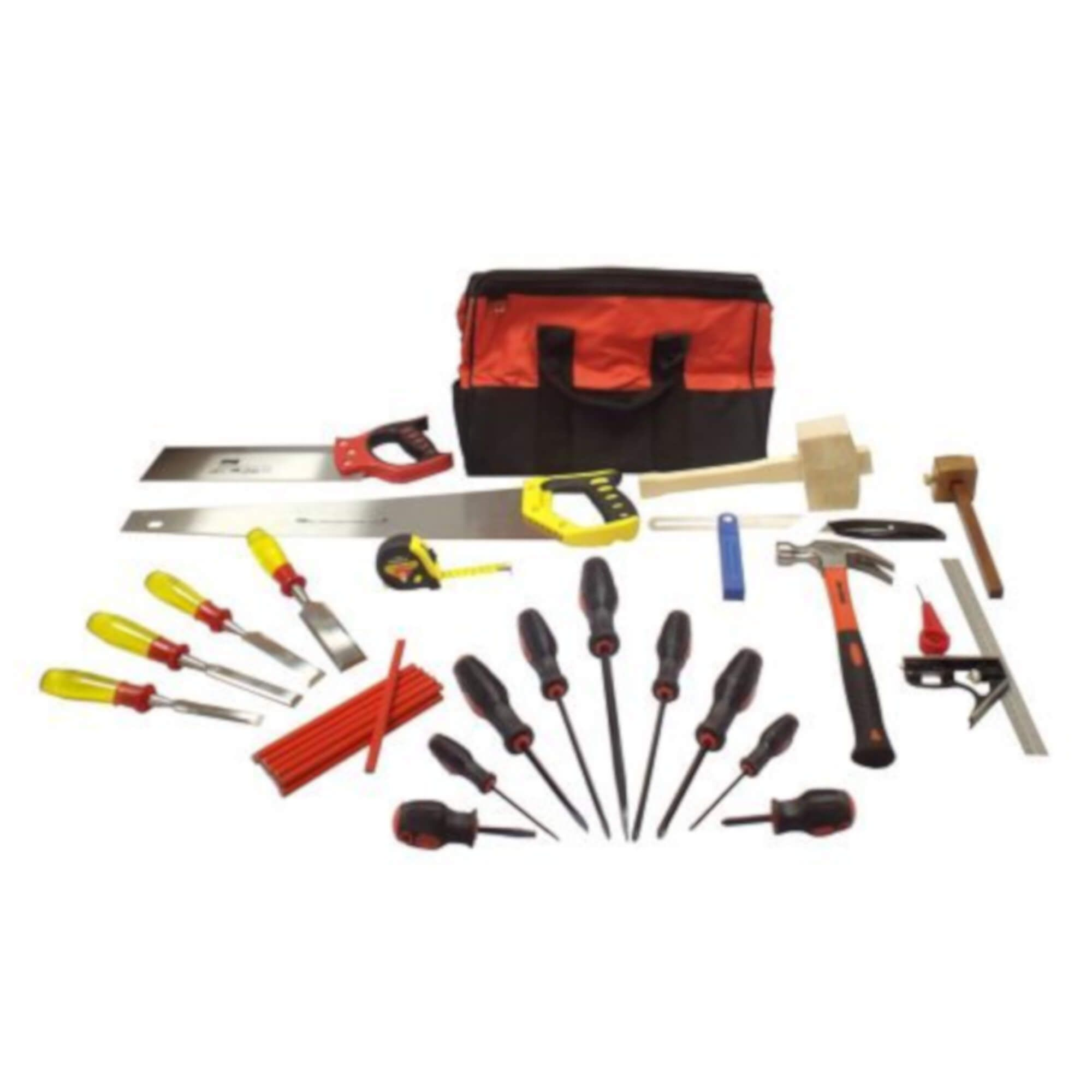 14pc Joinery Starter Tool Kit Apprentice Carpentry Woodworking Tools Set
