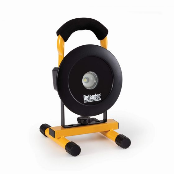 Defender Rechargeable 10W LED Floorlight with Floor Stand
