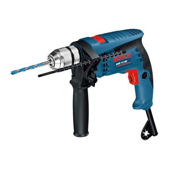 Bosch GSB13RE Professional Corded 600W Impact Drill with Variable Speed 240V