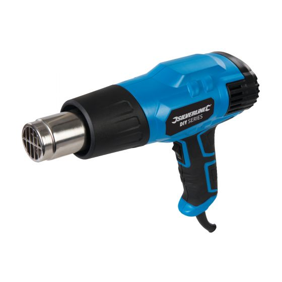 Silverline 2000w Hot Air Heat Gun 127655