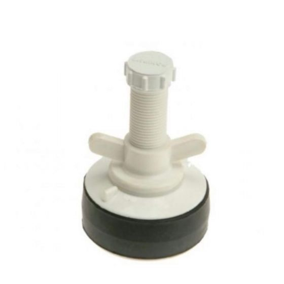 """Monument 4"""" Water Drain Testing Plug Bung 100mm Wing Nut Screw 1378Z"""