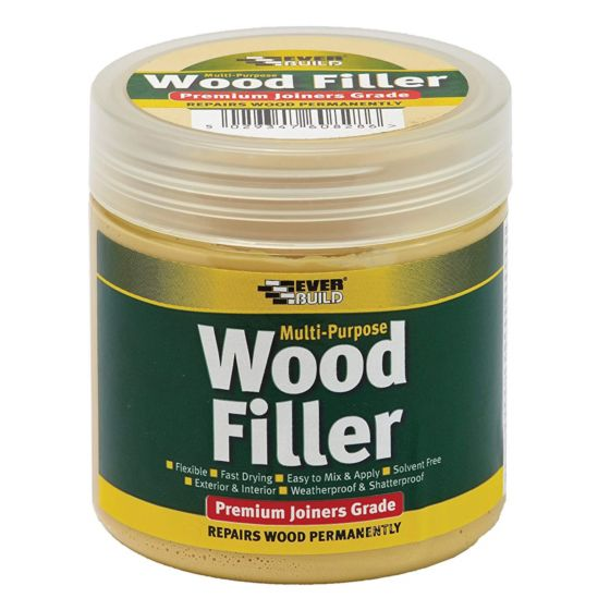 Everbuild One Part White Wood Filler 250ml