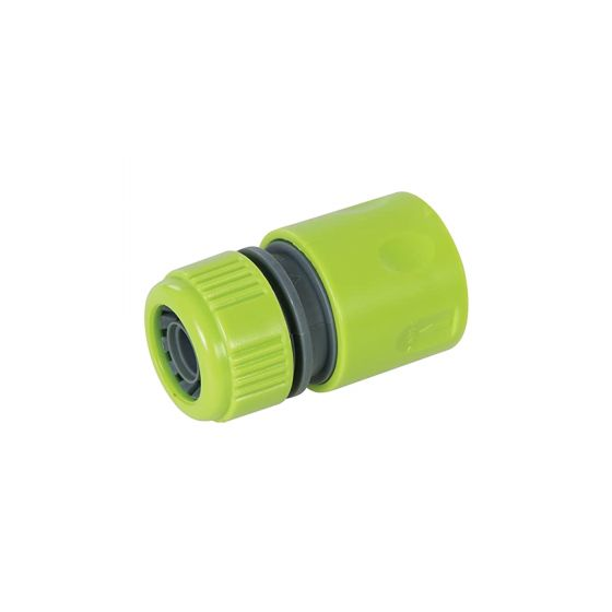 """Silverline Hose Pipe Push On Snap Connectors for House Outdoor Tap 1/2"""""""