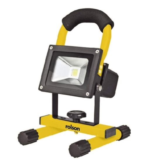 Rolson 10W Portable Outdoor LED Rechargeable Work Light