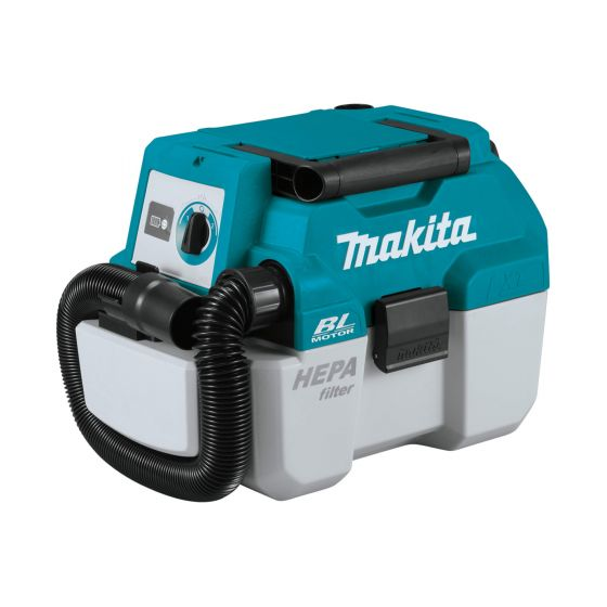 Makita 18V LXT BRUSHLESS L Class Wet & Dry Dust Extractor - Body Only