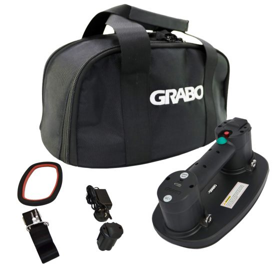 Grabo PLUS Professional Cordless Vacuum Lifter with Carry Bag Kit