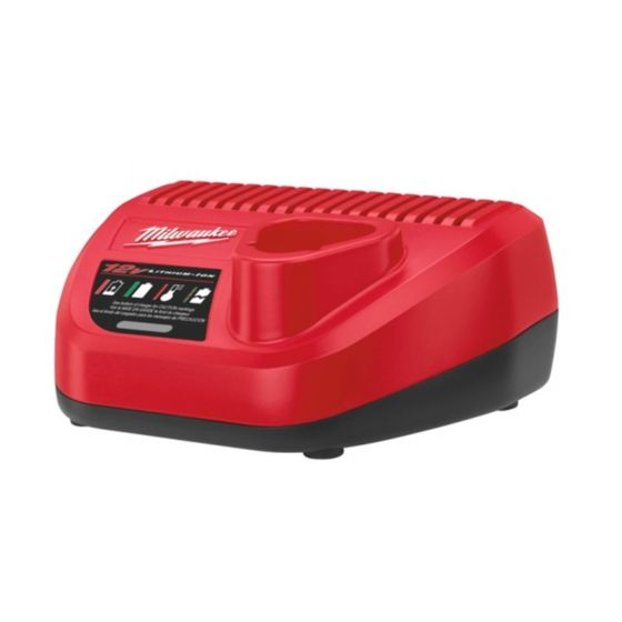 Milwaukee M12 C12C 12V Li-ion Battery Charger - 1.5-6Ah Lithium Ion Batteries