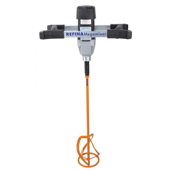 REFINA MM22 MEGAmixer 1300W Plaster Mixer 240V with 140mm Paddle