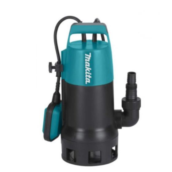 Makita PF1010 1100W Submersible Dirty Water Pump with Float Switch - 240ltrs/min - 230V - 13 Amp
