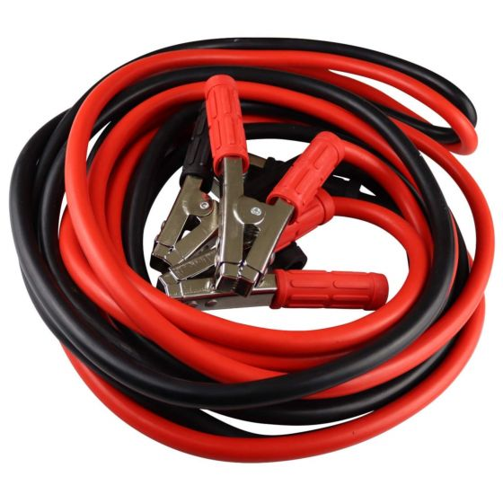 Rolson Heavy Duty Red Black 800 AMP Emergency Jump Battery Leads 3M Cable Car