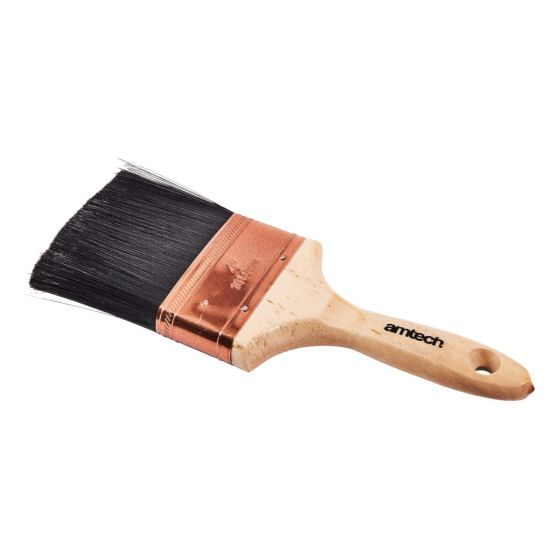 4in Plaster Water Brush - Wooden Handle Plasterers Splash Brushes 100mm