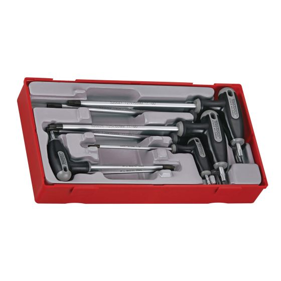 Teng 7pc TX & TPX T Handle Hex Key Driver Set TTTX7 - Tool Control System