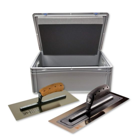 """NELA 16"""" Black Edition Twin Pack with PUTZ Trowel Case"""