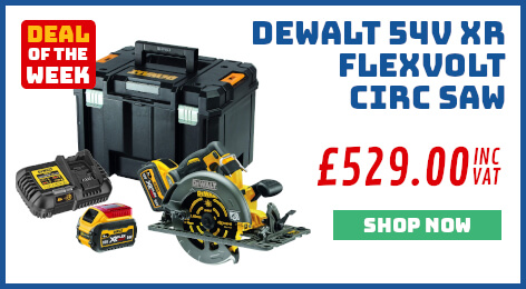 DeWALT 54 XR FlexVolt Circular Saw 6Ah Kit