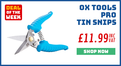 OX Tools Tin Snips