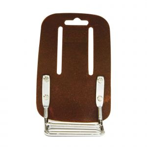 Rolson Heavy Duty 8 Pocket Tanned Leather Professional Hammer Nail Tool Pouch