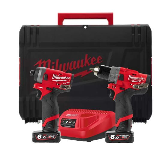 Milwaukee M12 Fuel Twin Pack Kit