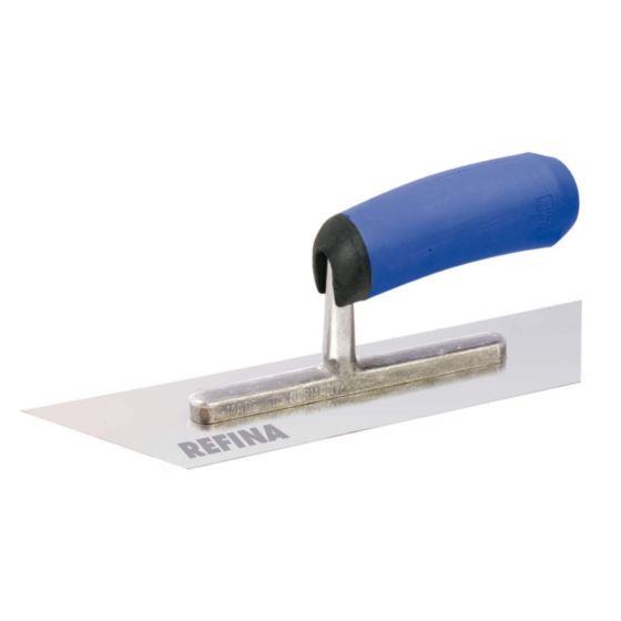REFINA 8in Plasterers Pointed Both Ends Midget Trowel with Stainless Steel Blade 221028